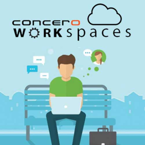 Concero Workspaces - YouTube Production With Red Wagon Video