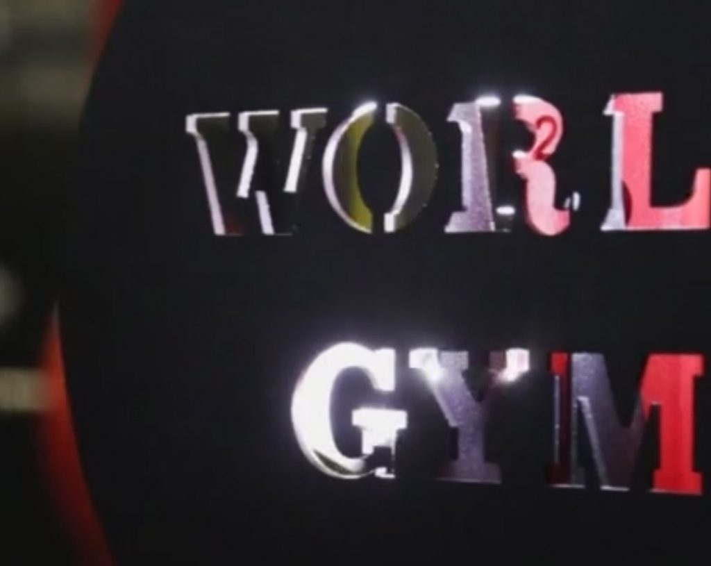 World Gym Promo Work Cover V2